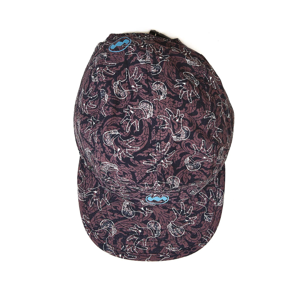 "[Re]Run Cap in Chifumi ""Dance Style"" Flower"