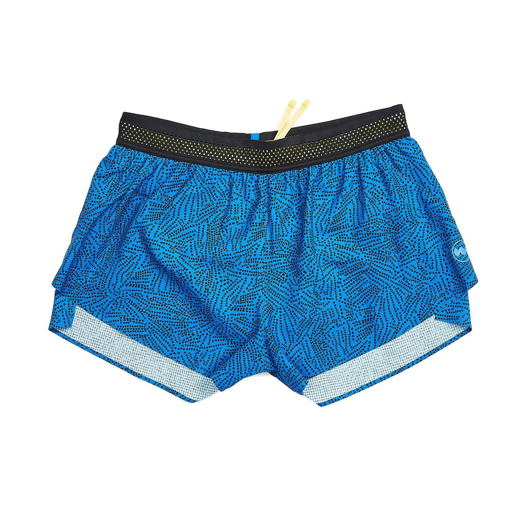 W's 3'' AVR Middle Short in Royal Tok Dot