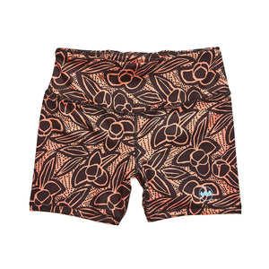 "W's 4"" Race Short in Nightmrkt Neon Floral"