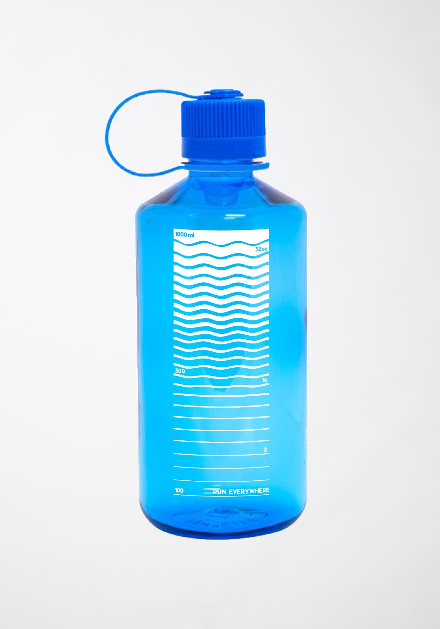 Janji 32oz Water Bottle in Essential Blue