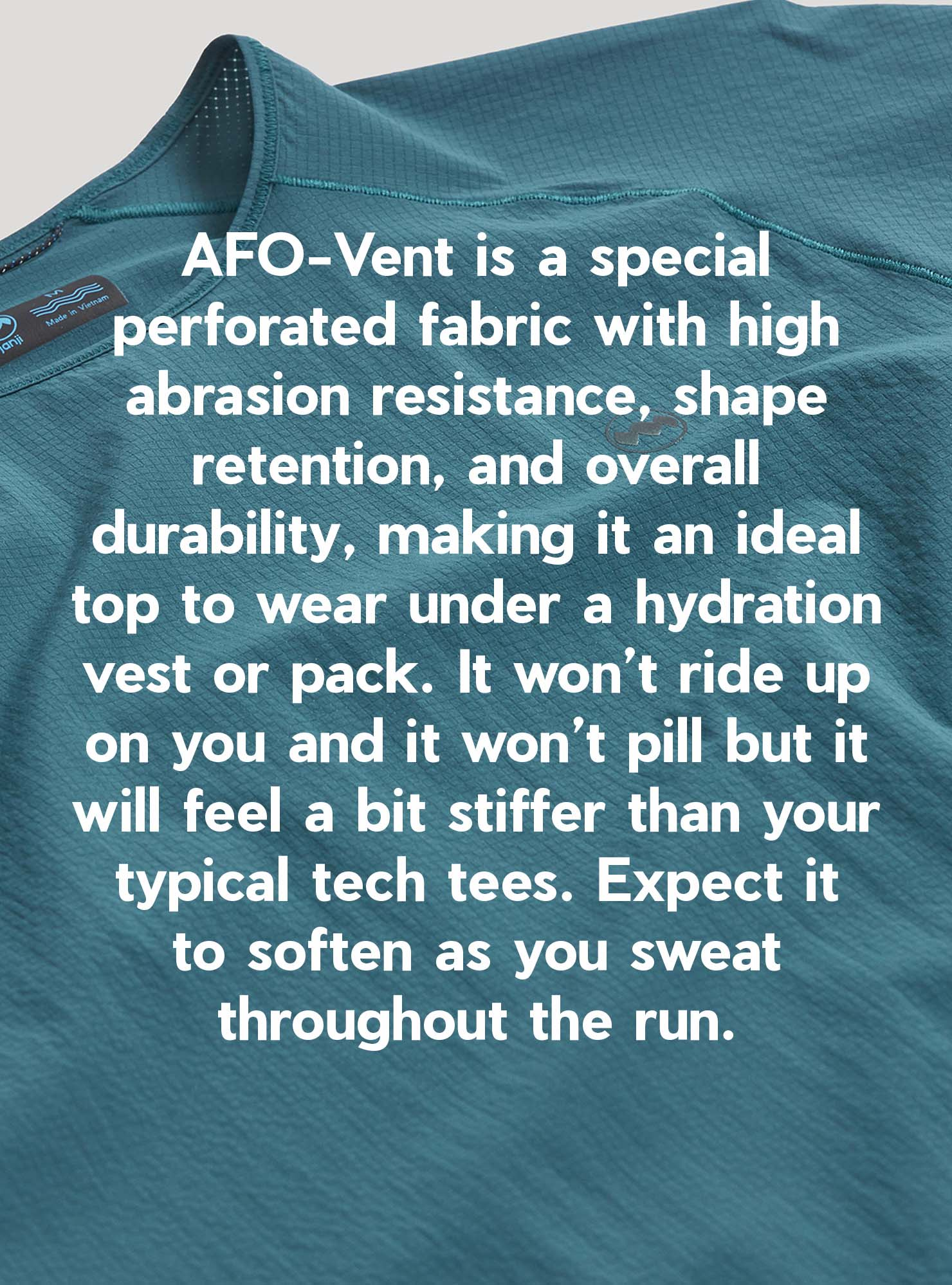 W's AFO-Vent SS Tee