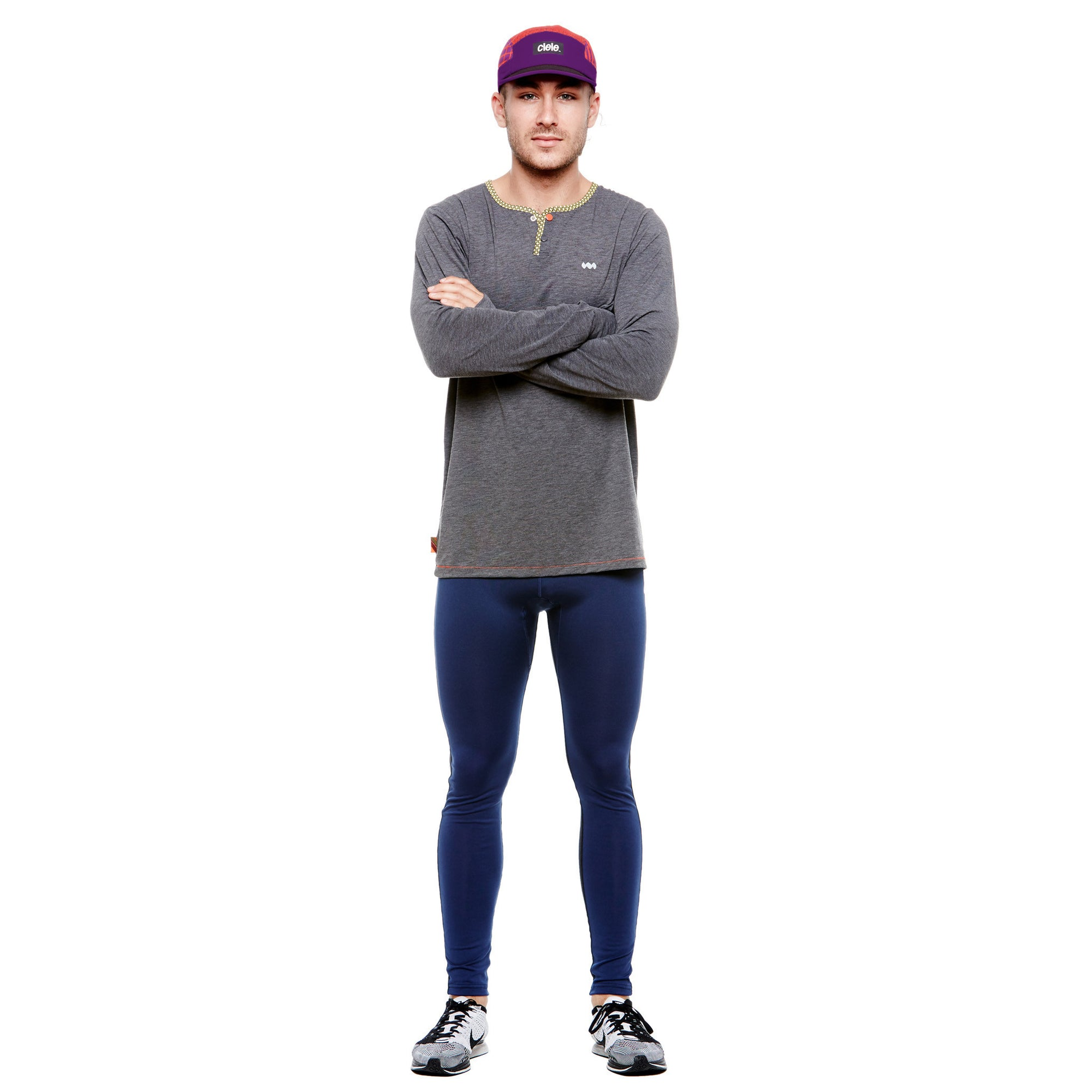 Men's Janji x Ciele Go Cap Purple/Blue