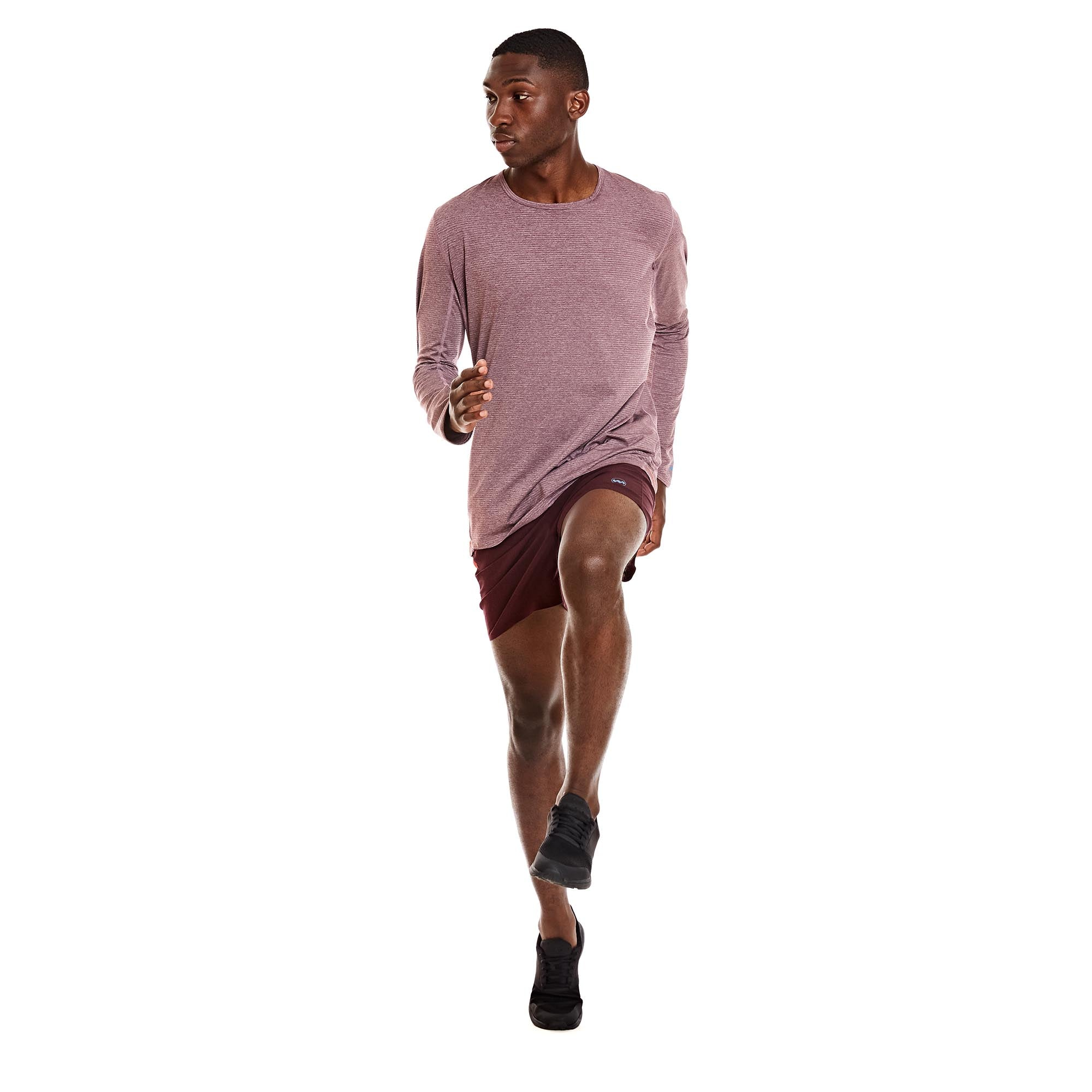 M's Strata Tech Long Sleeve in Sol Morado