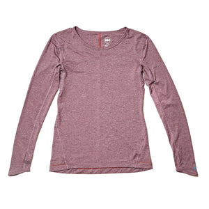 W's Strata Tech Long Sleeve in Sol Morado