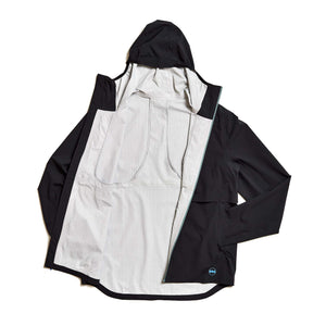 M's Rainrunner Pack Jacket in Midnight