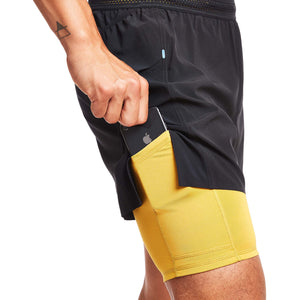 "M's 8"" 2-in-1 Traverse Short in Midnight"
