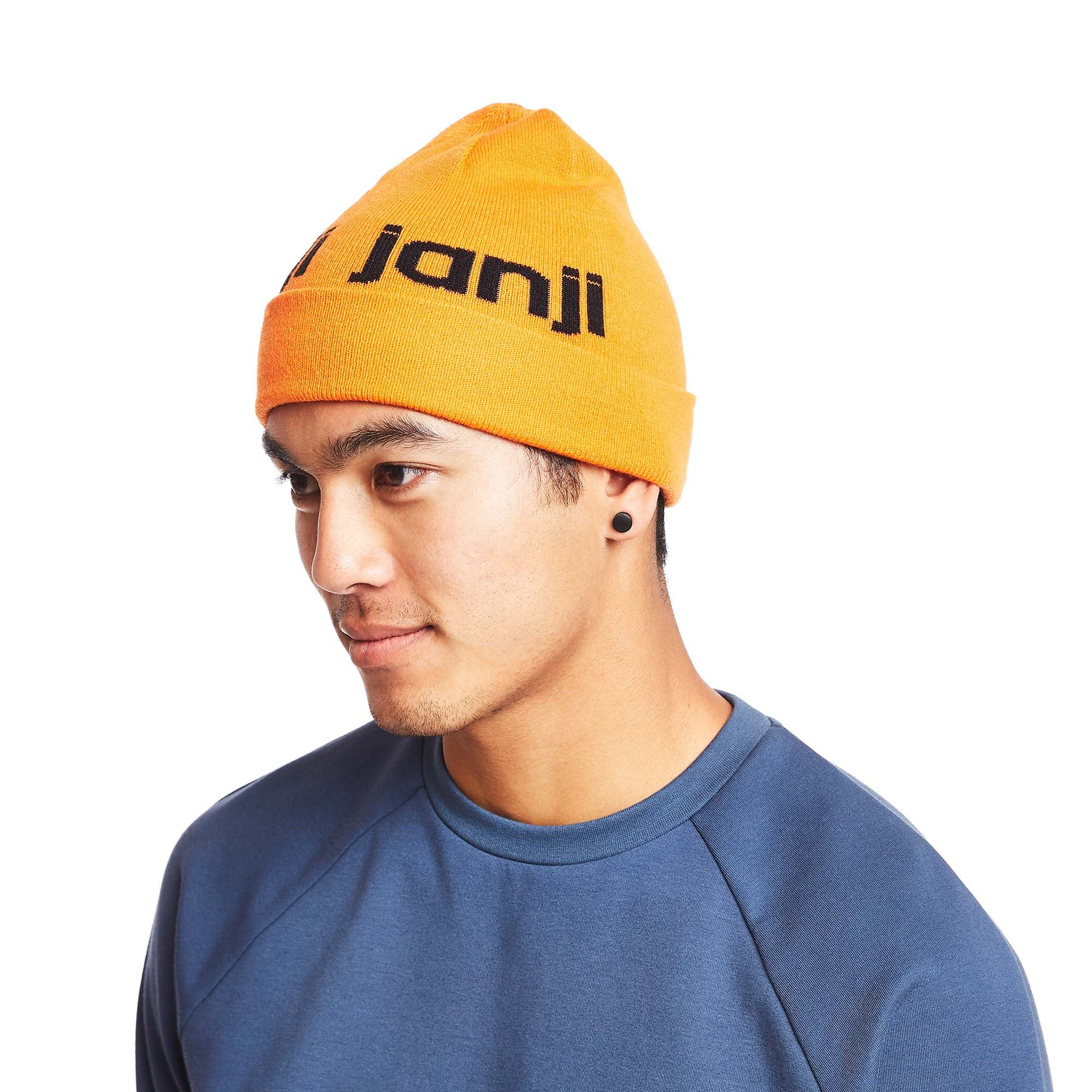 Outlook Beanie in Super Orange