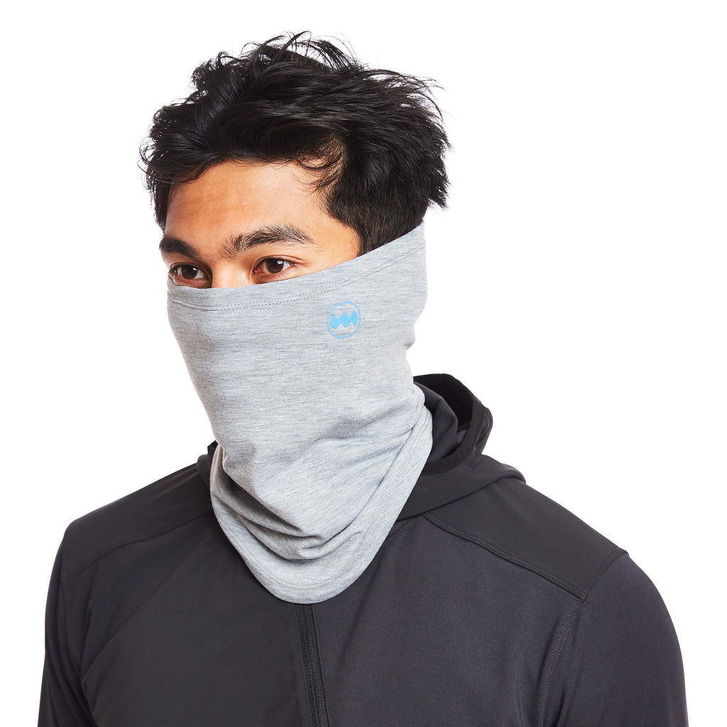 Swift Tech Merino Neck Warmer in Pebble