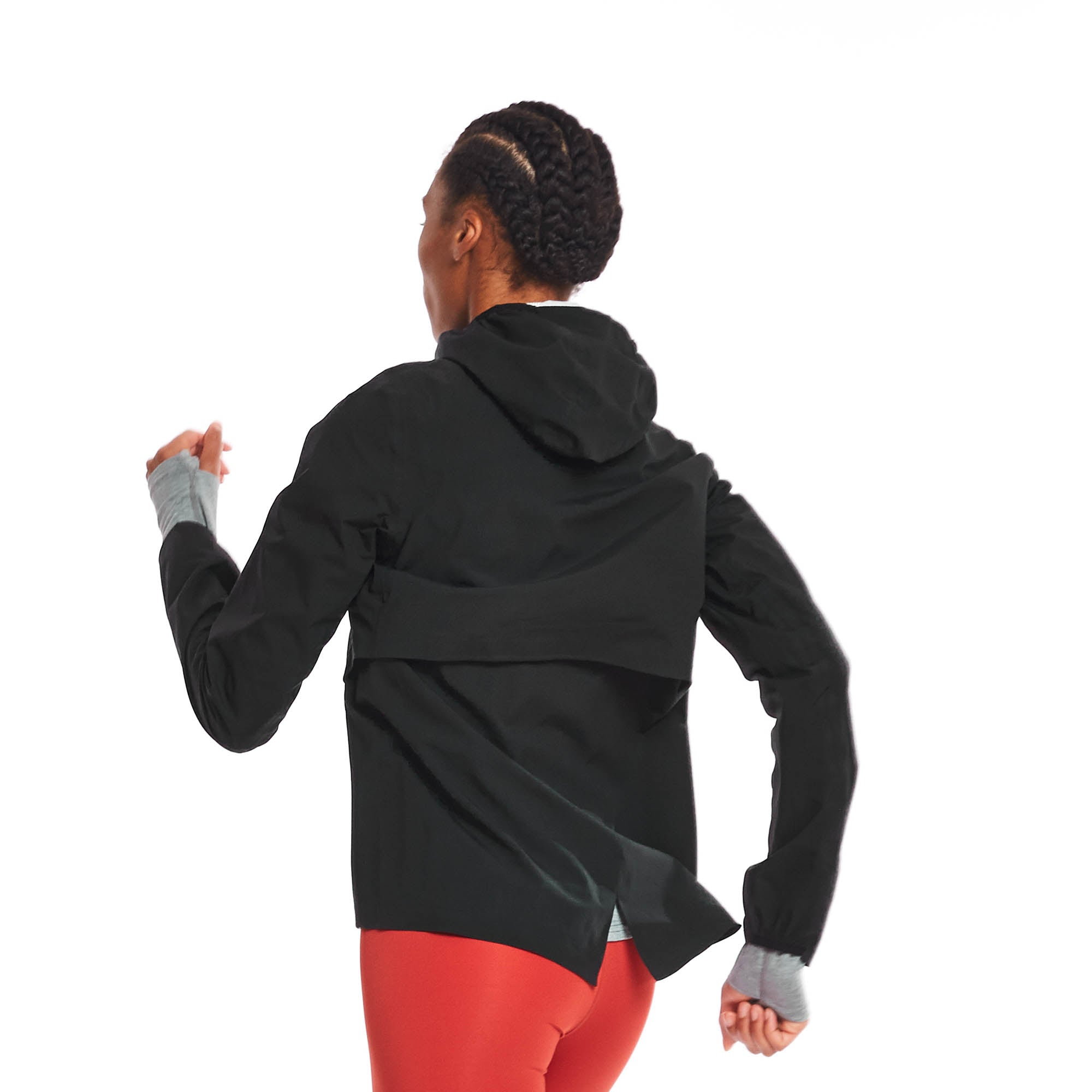 W's Rainrunner Pack Jacket in Midnight
