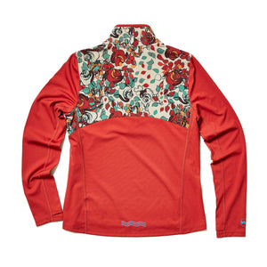 W's TT Meridian Half-Zip in Terracotta