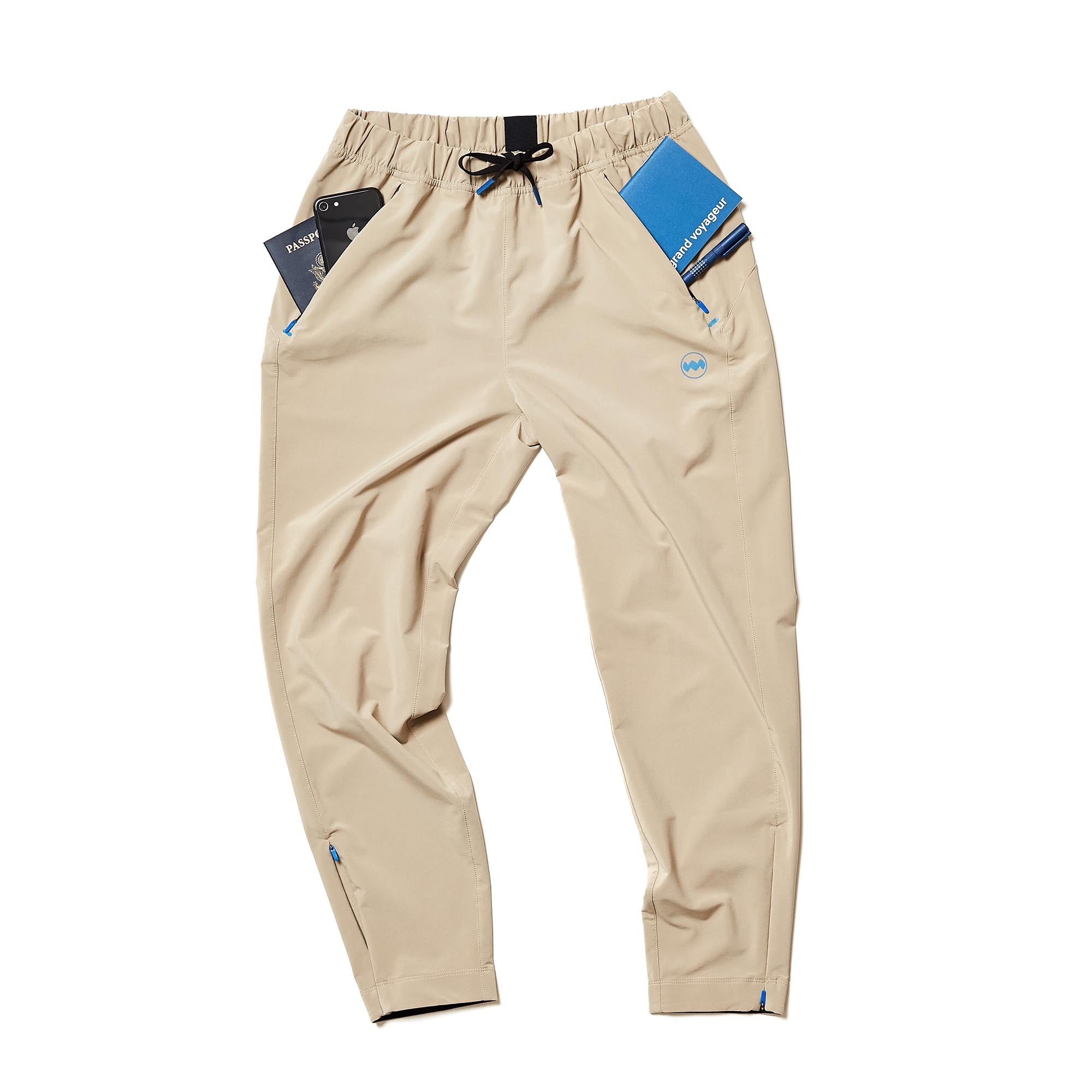 W's Transit Tech Pant in Cobblestone