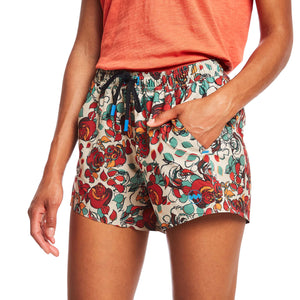 W's 4'' Transit Tech Short in Floral Camo
