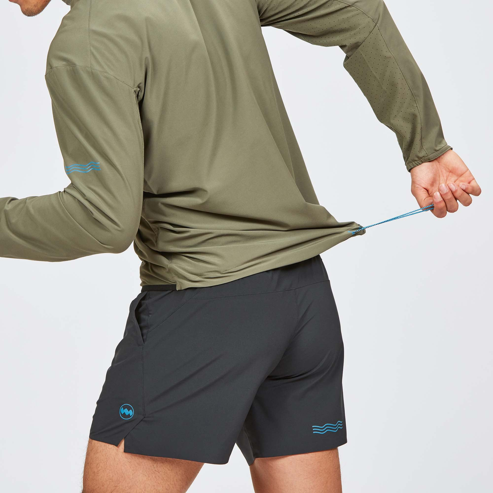 M's TT Half-Zip in Stingray