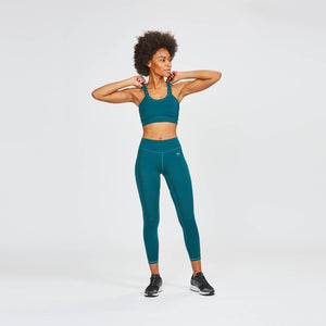 W's Pace Sports Bra in Pacific