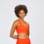 W's Pace Sports Bra in Paprika