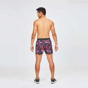 "M's 5"" AFO Middle Short in Flora Orchid"