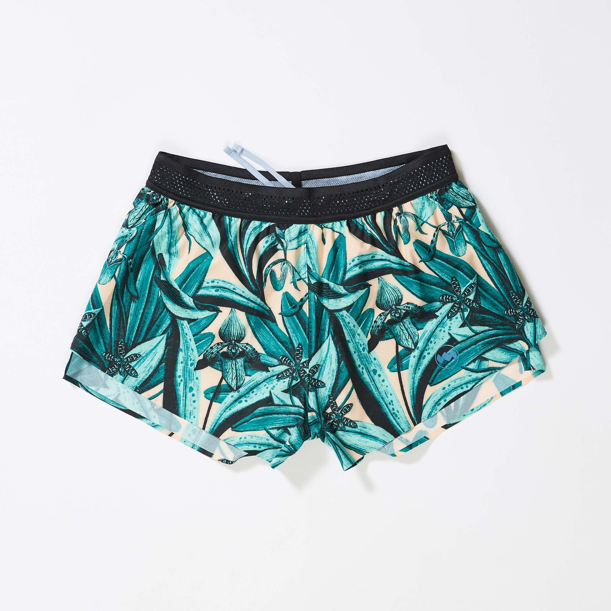 "W's 3"" AFO Middle Short in Flora Laguna"