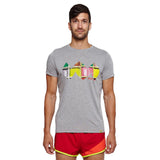 Men's India Logo Short Sleeve Shirt