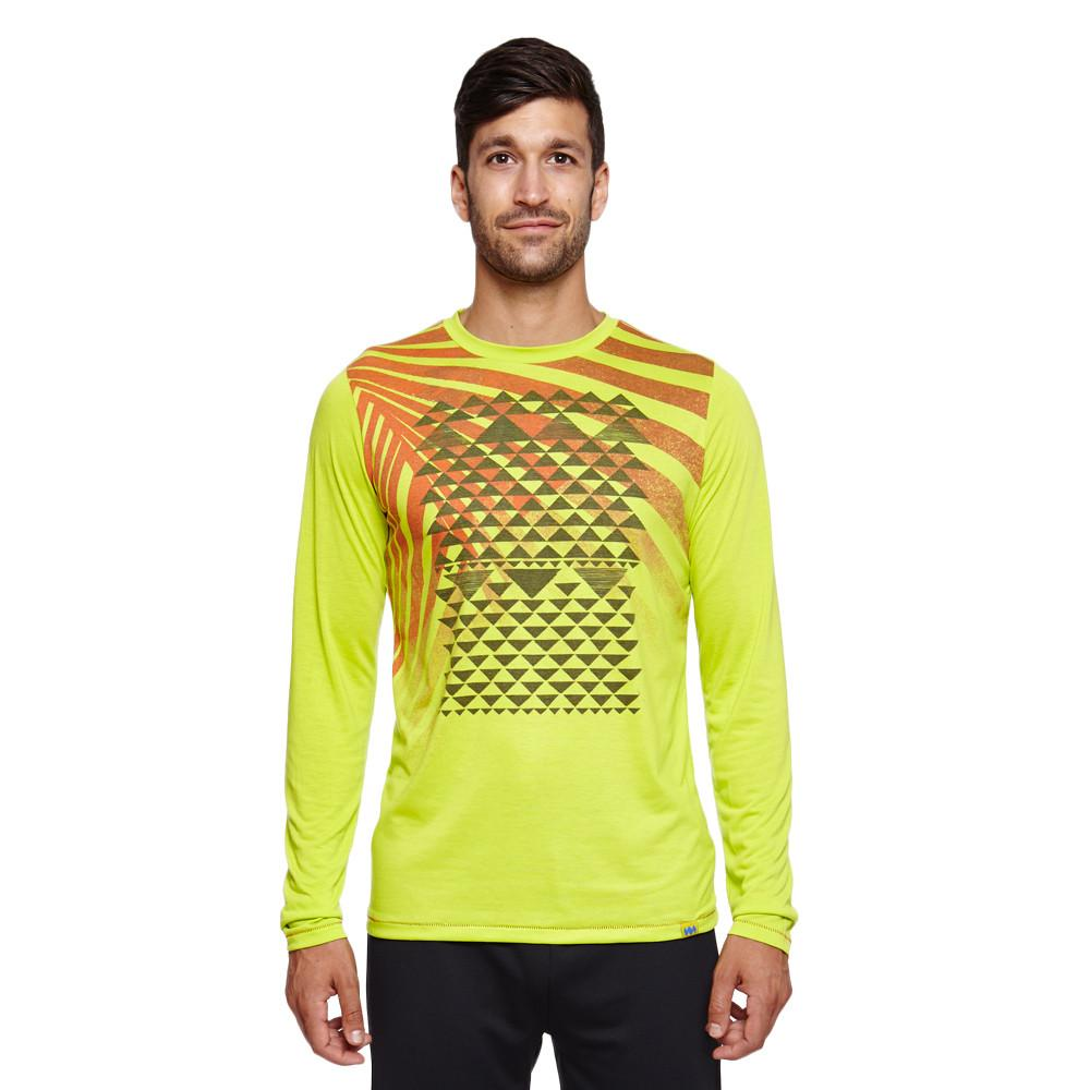 Men's Kenya Palm Leaf Long-Sleeve Tee