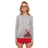 Women's Giraffe Kenya Long-Sleeve Running Shirt