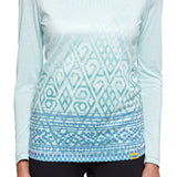 Women's Peru Diamond Long-Sleeve Shirt