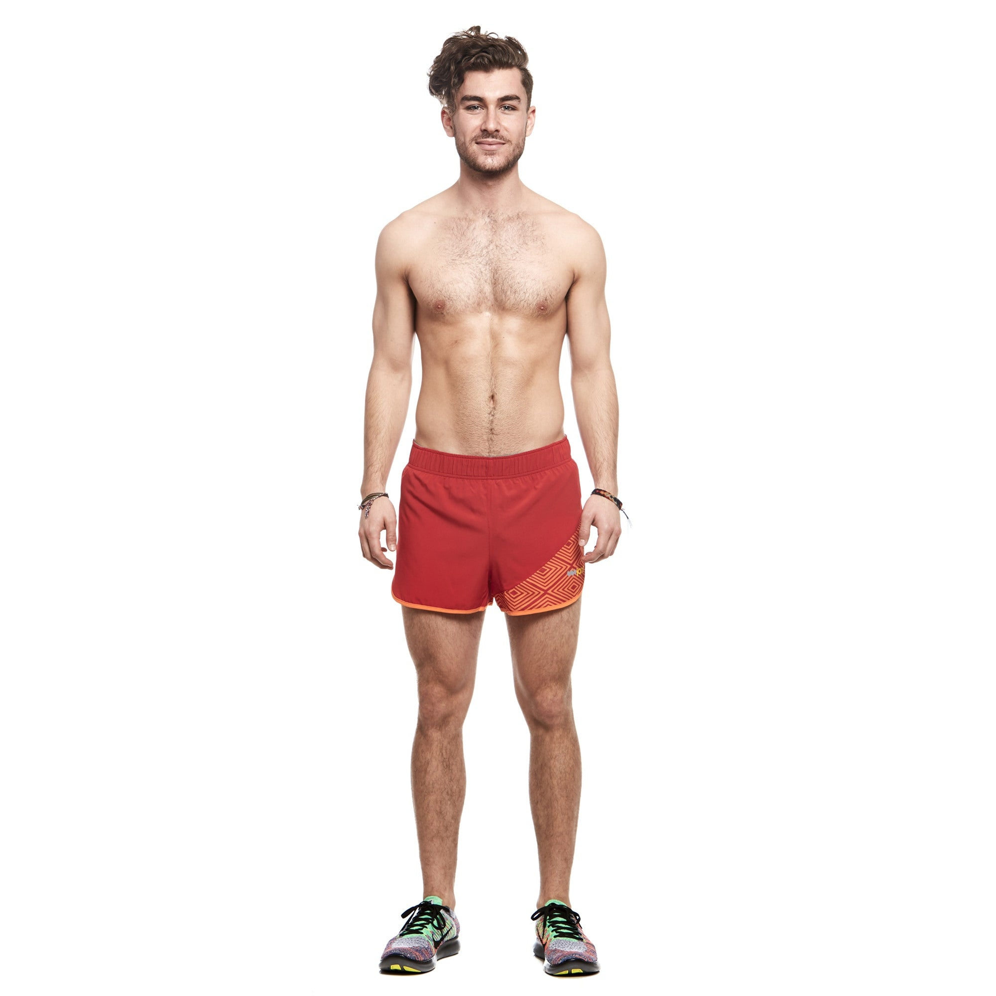 Men's Peru Race Split Shorts