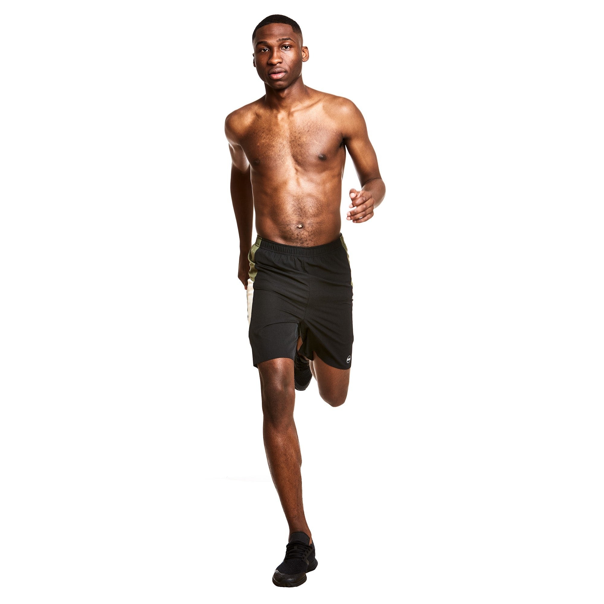 "M's 7"" 2-in-1 Traverse Short in Boda Black"