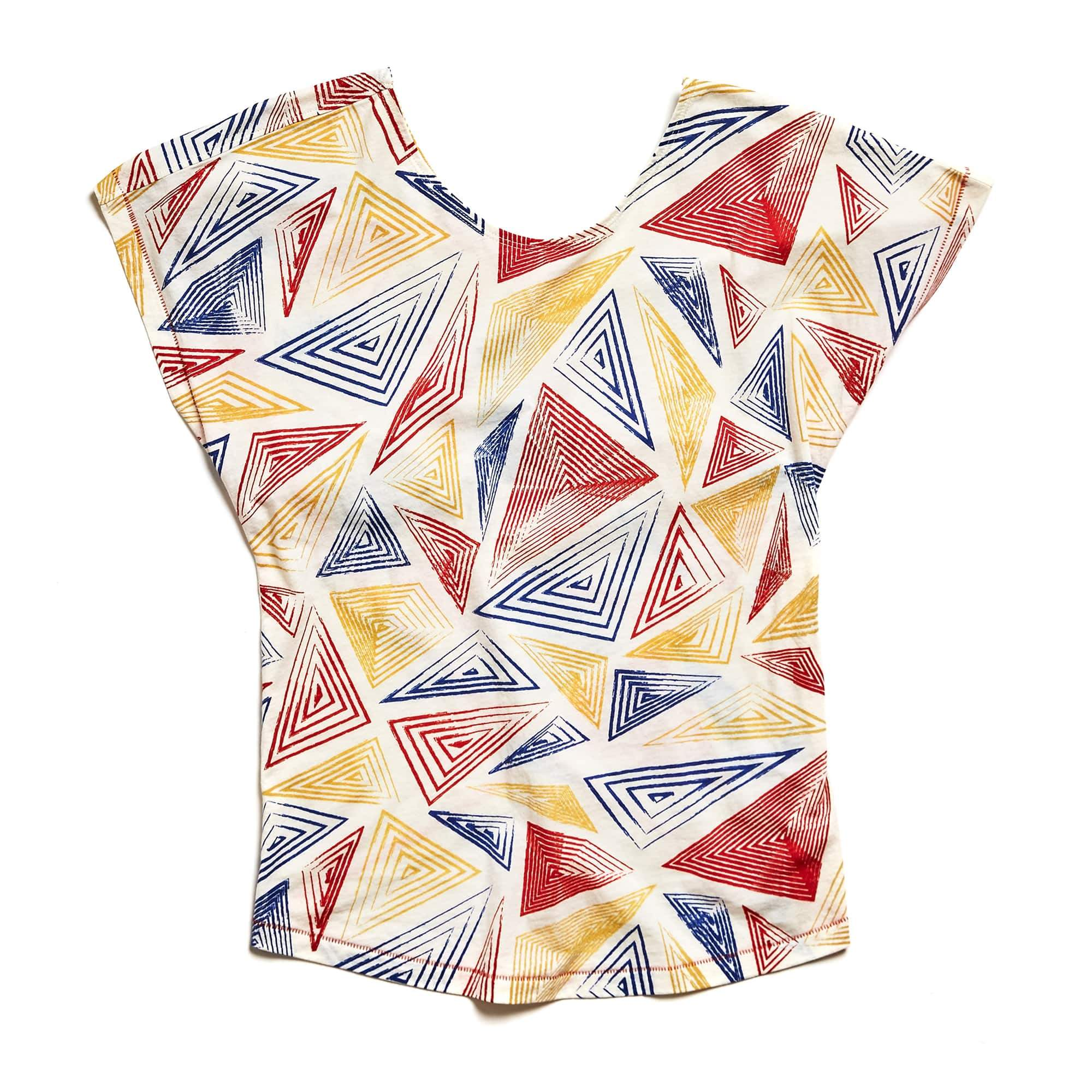 W's Feather Laguna Tee in Dembe Primary