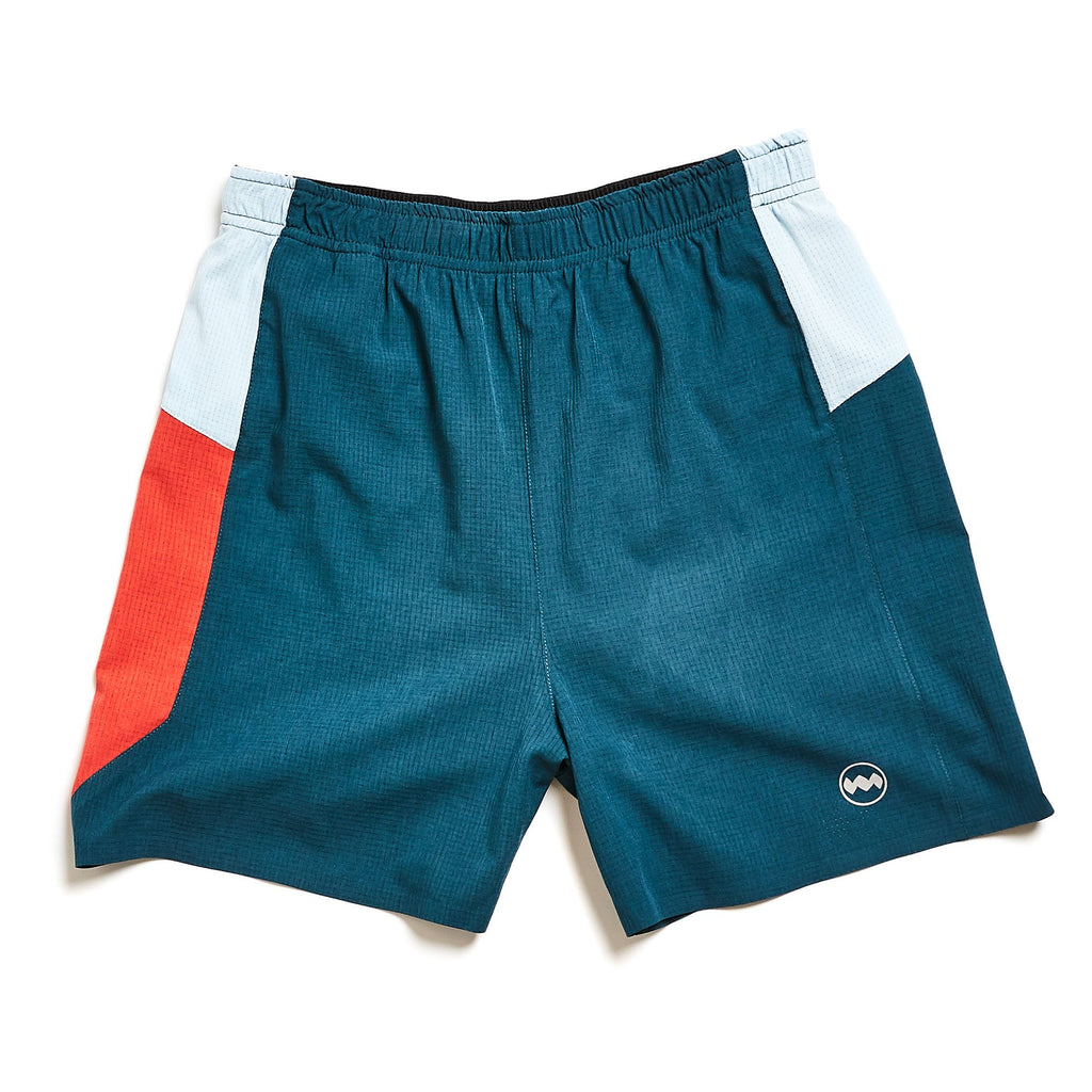 "M's Uganda 5"" Middle Short in Yangua Green"