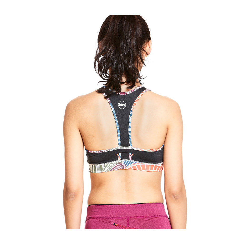 W's Sports Bra in Boda Black