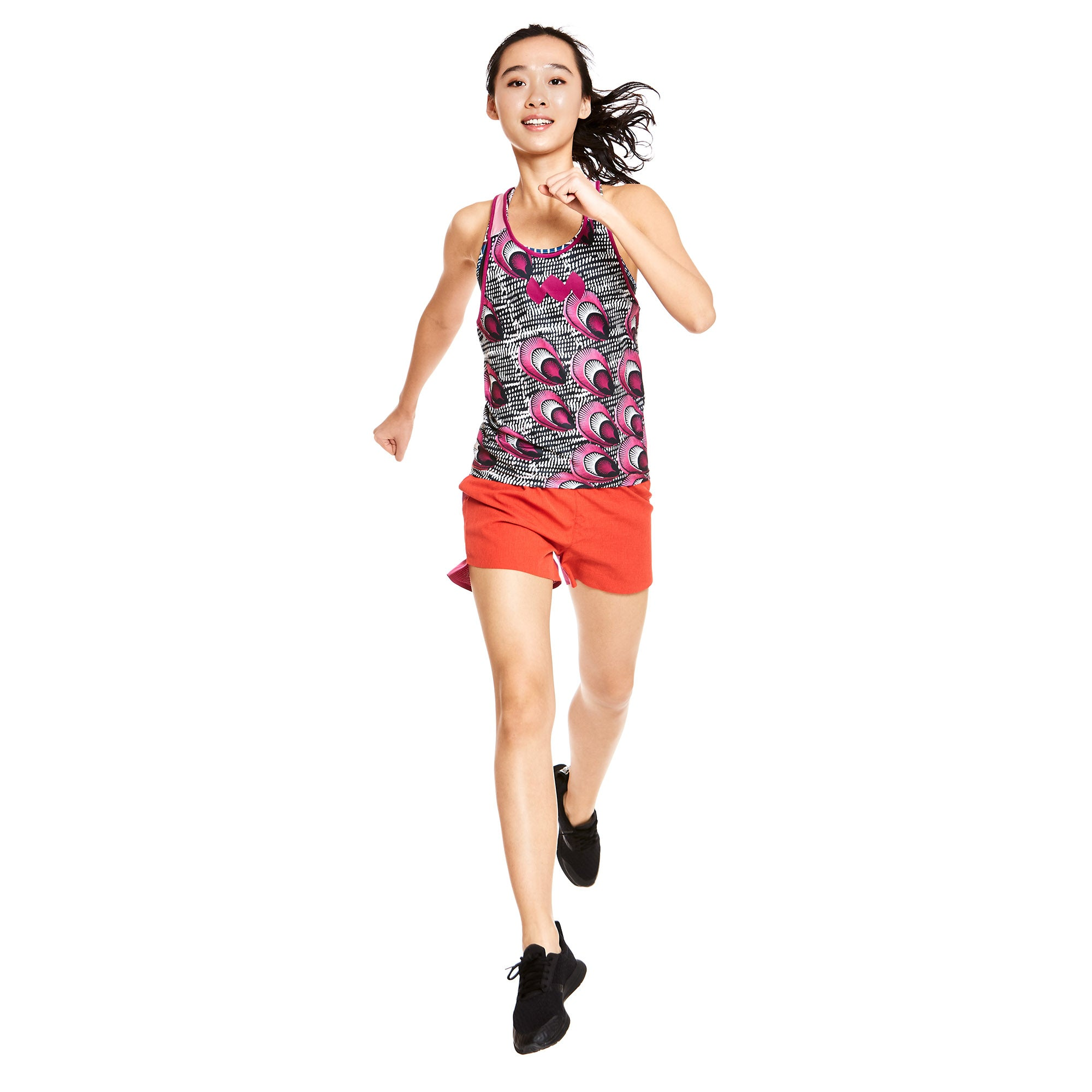 W's Compass Singlet in Shida Floral
