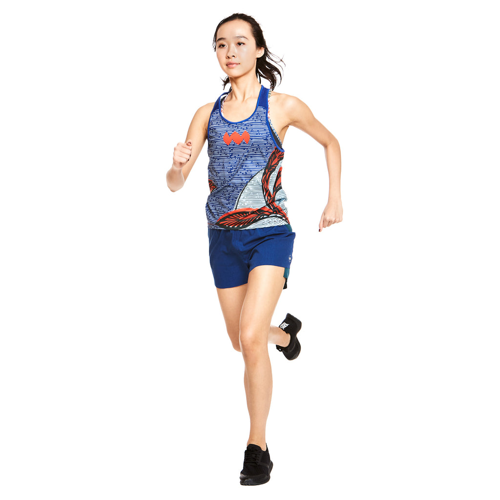 W's Compass Singlet in Leah Floral