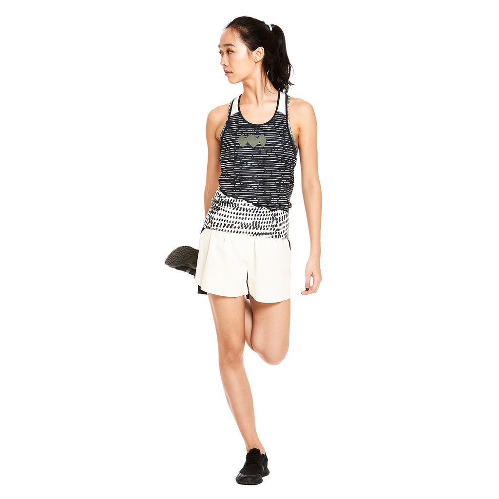 W's Compass Singlet in Sissi Contrast