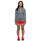 Women's Tanzania Interior Print 1/4 Zip Pullover Running Jacket