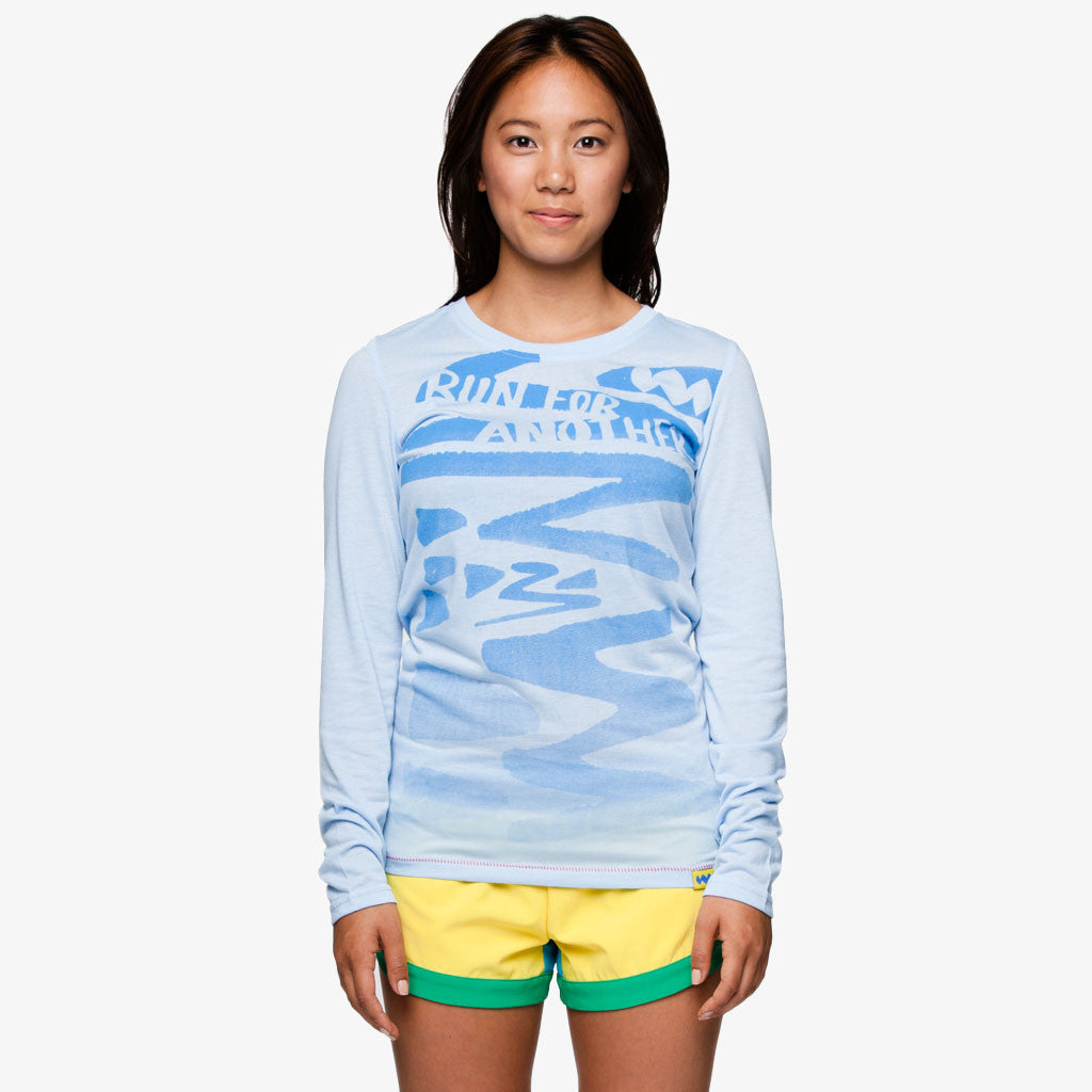 Women's Logo Run for Another Long-Sleeve Running Shirt