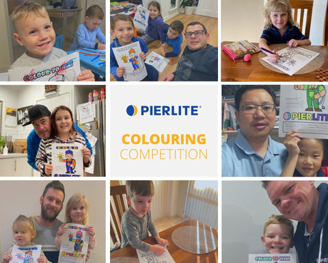 Pierlite colouring-in competition