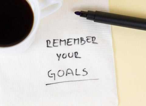 Remember your goals after a breakup