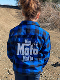Youth Blue Flannel