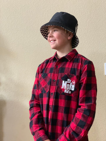 Youth Red Flannel