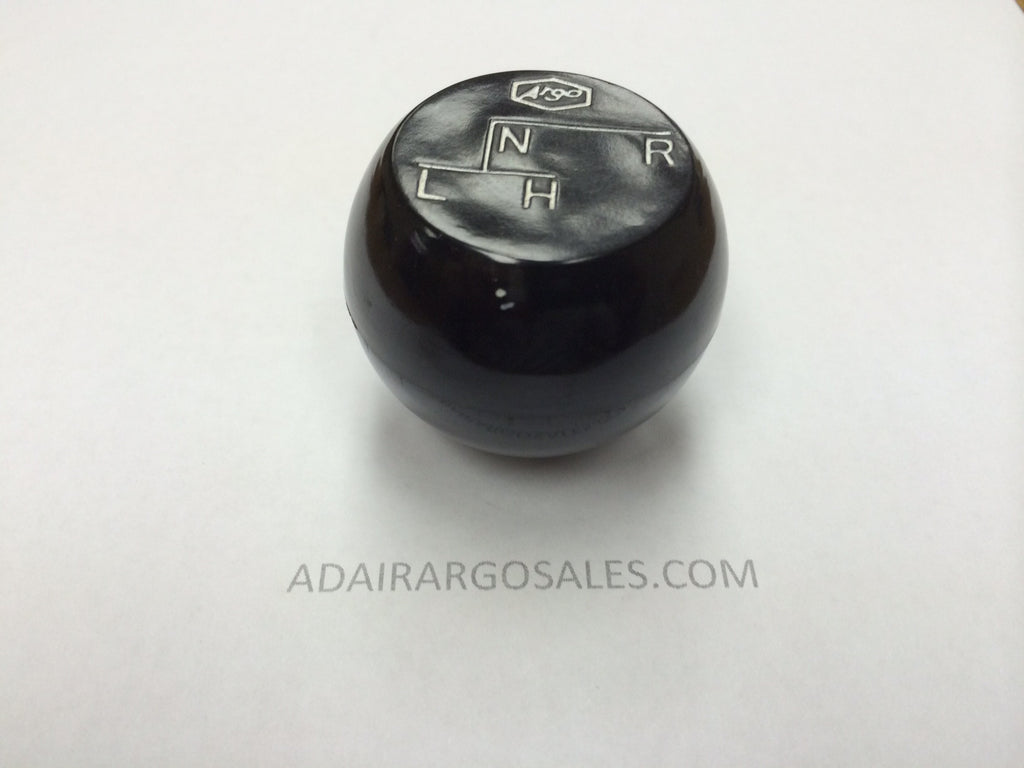 KNOB, SHIFT - w/ARGO LOGO ( 34-121 )