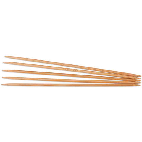 "8"" Bamboo Double Pointed Needles"