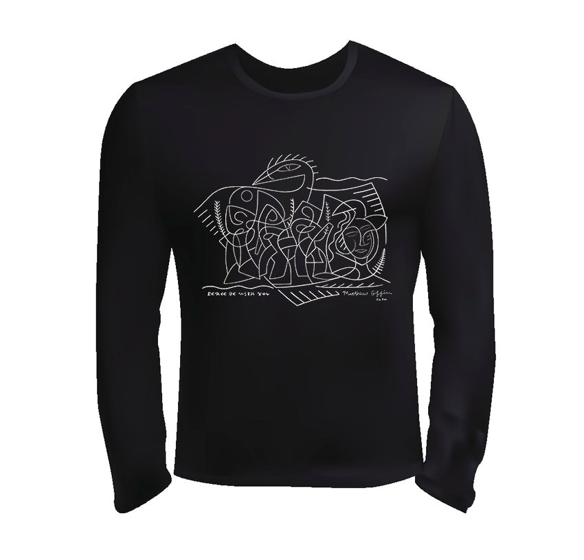 Peace Be With You - Long Sleeve Jersey