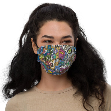 Skydwellers Face Mask