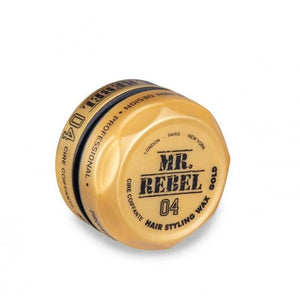 Mr Rebel Hair Styling Wax Gold One 04 150 ml - Barber Products