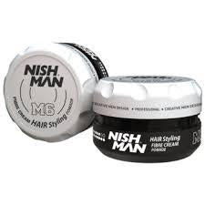 Nish Man Matte Styling Fibre Cream 100 ml - Barber Products