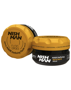 Nish Man Matte Styling Argan 100 ml - Barber Products