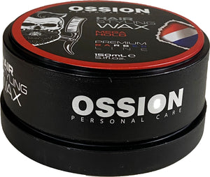 OSSION HAIR STYLING WAX MEGA HOLD 150 ML - Barber Products