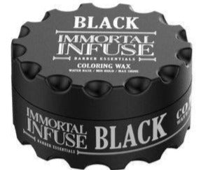 Immortal Infuse Coloring Black Wax 100 ml - Barber Products