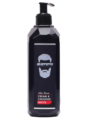 Gummy After Shave Cream Cologne Invite500 ml - Barber Products