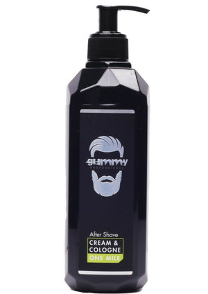 Gummy After Shave Cream Cologne One Mile 400ml - Barber Products